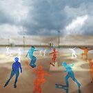 Skateboarding by Marlies Odehnal