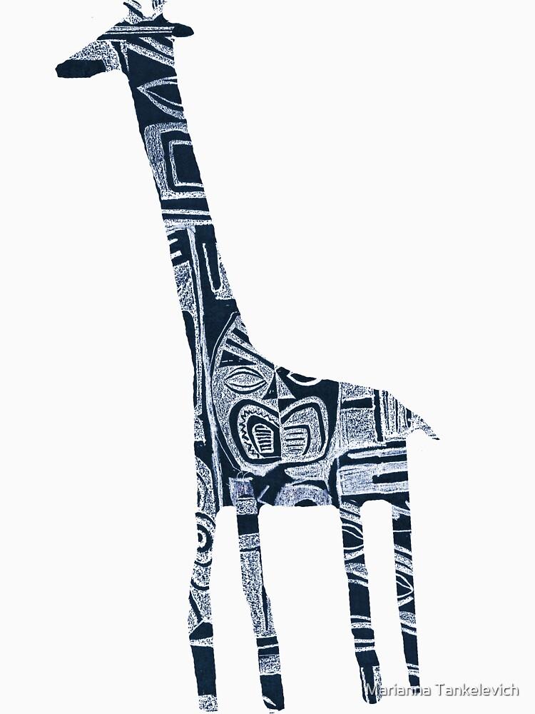 giraffe by mariannat