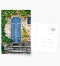 The old doorway in Provence Postcards
