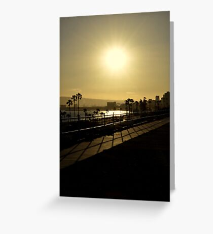 Sunshine and Silhouettes Greeting Card
