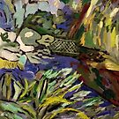 Botanical Gardens - Domain by Julie-Ann Vellios