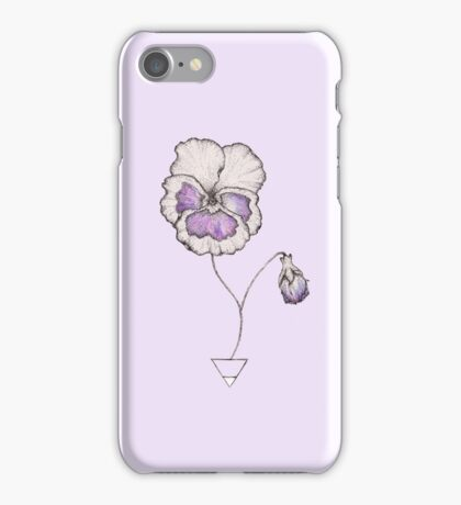 Earth Pansy iPhone Case/Skin