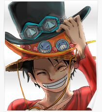 Luffy - One Piece Poster