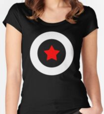 Shield T-Shirt Women's Fitted Scoop T-Shirt