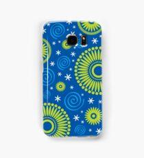 Pop! Blue & Green Samsung Galaxy Case/Skin