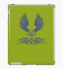Blue Angel Wings iPad Case/Skin