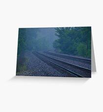 Misty Curve Greeting Card