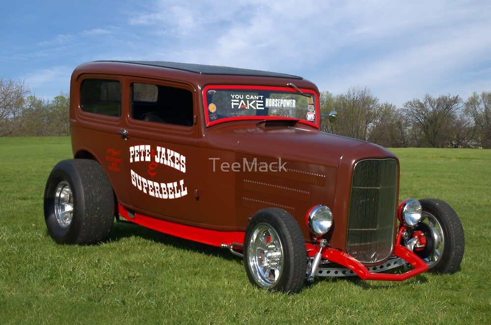 1932 Ford Sedan Hot Rod by TeeMack