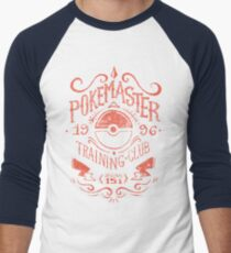 Pokemaster Training Club Men's Baseball ¾ T-Shirt