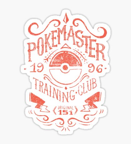 Pokemaster Training Club Sticker