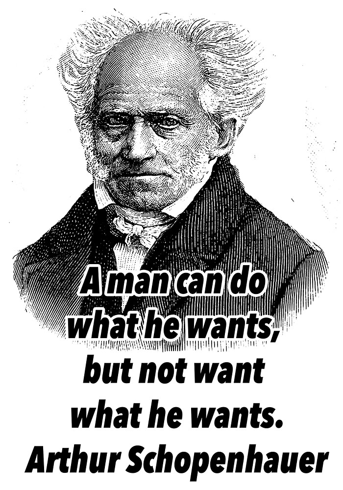 arthur, Schopenhauer quote by Shirtquotes