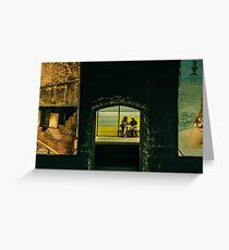 Tube in BCN Greeting Card