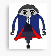 Peter Capaldi as The Doctor Canvas Print