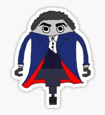 Peter Capaldi as The Doctor Sticker