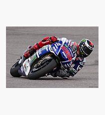 Jorge Lorenzo at Circuit Of The Americas 2014 Photographic Print