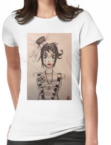 Dollface (2) Womens Fitted T-Shirt