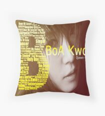 BoA Kwon Throw Pillow