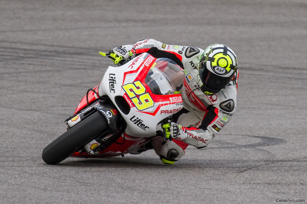 Andrea Iannone at Circuit Of The Americas 2014 by corsefoto