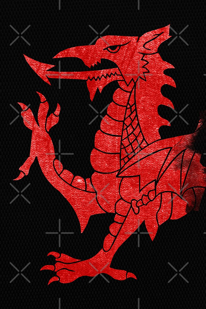 Welsh Red Dragon Crop by GrizzlyGaz