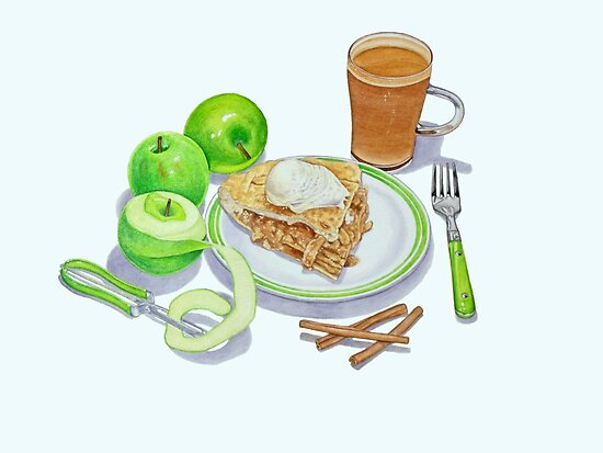 Granny Smith Apple Pie by joeyartist