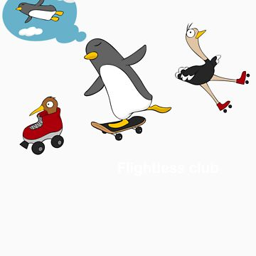 Flightless club 3 by design2heart