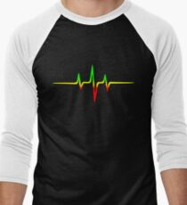 Music Pulse, Reggae, Sound Wave, Rastafari, Jah, Jamaica, Rasta T-Shirt