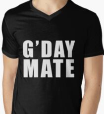 Good Day Mate Mens V-Neck T-Shirt