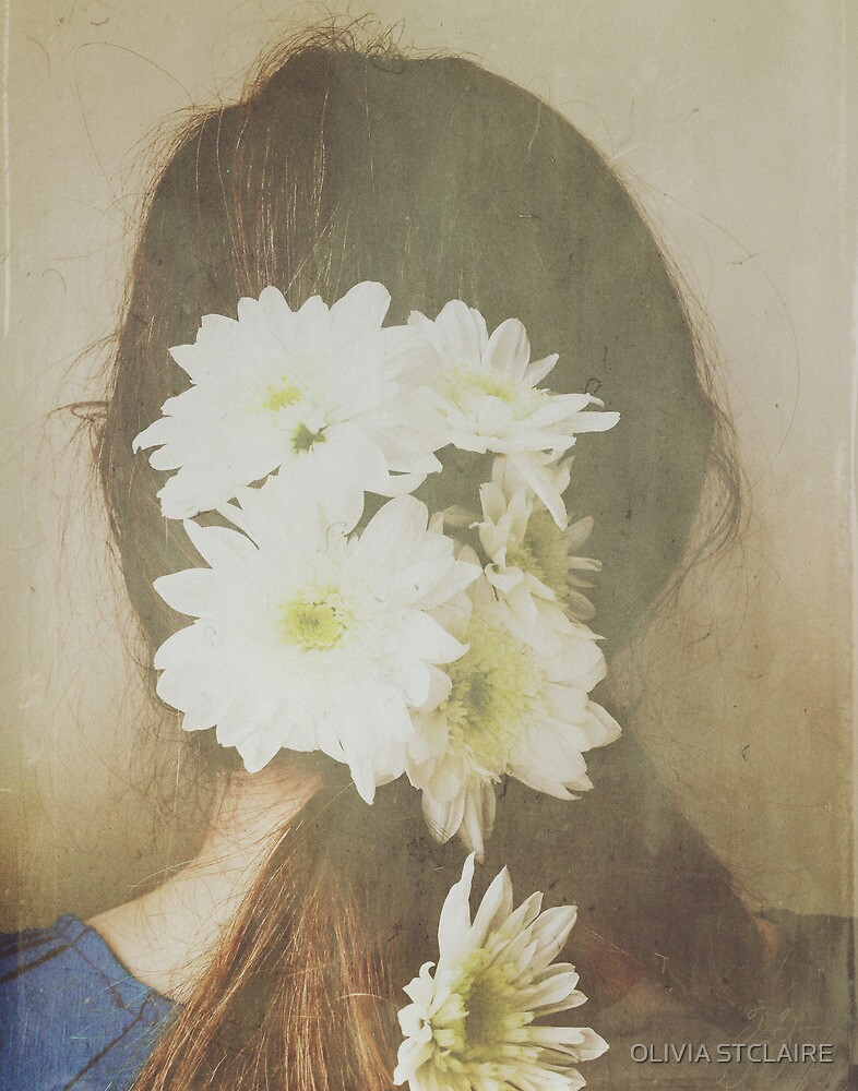She Had Flowers in Her Hair - Dreamy White Version by OLIVIA JOY STCLAIRE