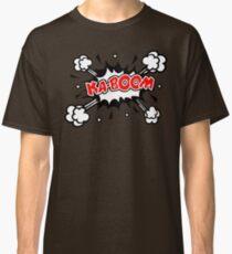 COMIC KA-BOOM, Speech Bubble, Comic Book Explosion, Cartoon Classic T-Shirt