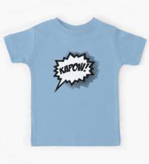 COMIC POW! Speech Bubble, Comic Book Explosion, Cartoon Kids Tee