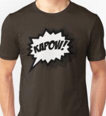 COMIC POW! Speech Bubble, Comic Book Explosion, Cartoon Unisex T-Shirt