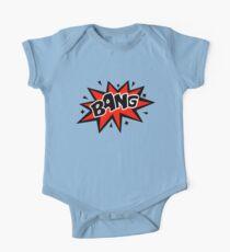COMIC BANG! Speech Bubble, Comic Book Explosion, Cartoon Kids Clothes