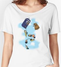 Doctor Who Tardis Ride Women's Relaxed Fit T-Shirt