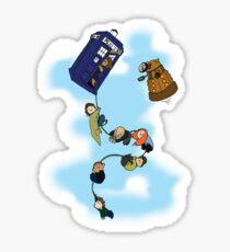 Doctor Who Tardis Ride Sticker