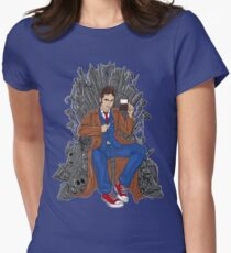 Throne of Time Women's Fitted T-Shirt