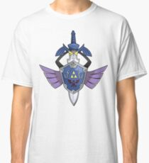 Master Sword - Hylian Shield Aegislash Classic T-Shirt