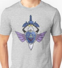 Master Sword - Hylian Shield Aegislash Unisex T-Shirt