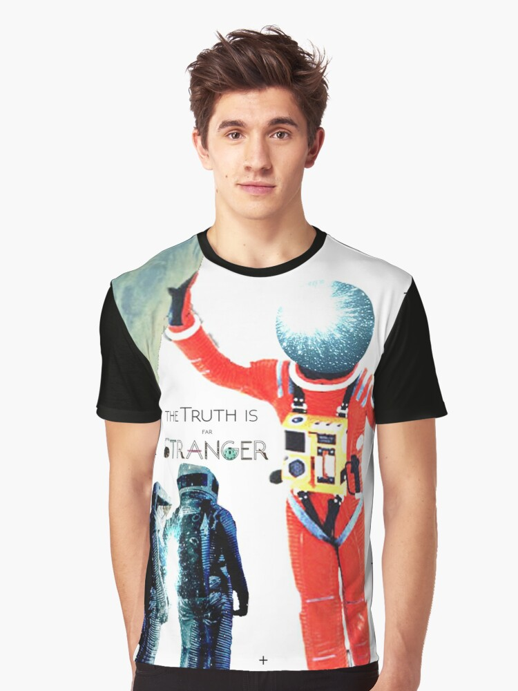 Space Odyssey Montage 2 Graphic T-Shirt Front