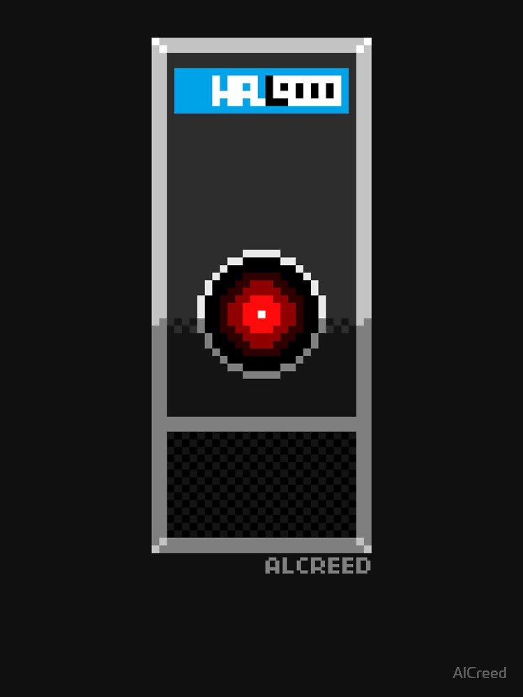 8-Bit HAL 9000 by AlCreed
