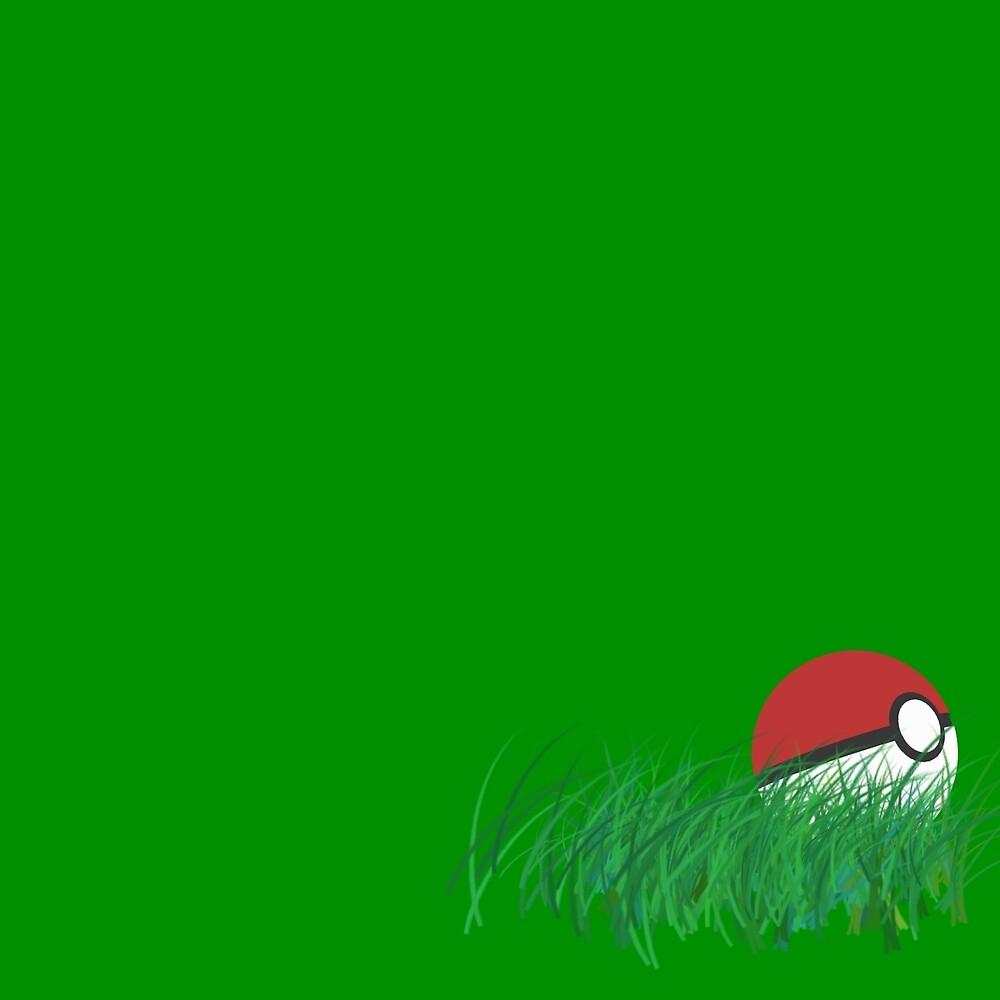 Pokeball by joeredbubble
