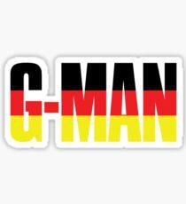 G-Man Sticker