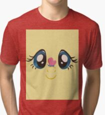 Fluttershy and Butterfly Tri-blend T-Shirt
