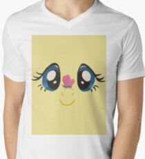 Fluttershy and Butterfly Men's V-Neck T-Shirt
