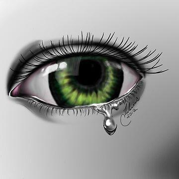 Green Eye  by Stinkyfut