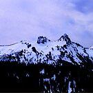 Tatoosh Mountain Range HDR by Tori Snow
