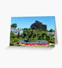 Green Animals, Portsmouth, Rhode Island Greeting Card