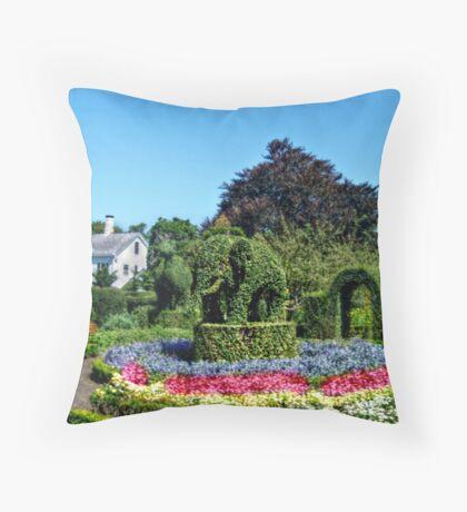 Green Animals, Portsmouth, Rhode Island Throw Pillow