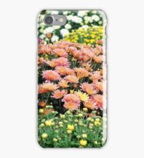 autumn colorful flower iPhone Case/Skin