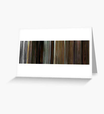 Moviebarcode: Kill Bill: Vol. 2 (2004) Greeting Card