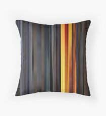 Moviebarcode: Sequence from Kill Bill: Vol. 1 - Chapter 3: The Origin of O-Ren (2003) Throw Pillow